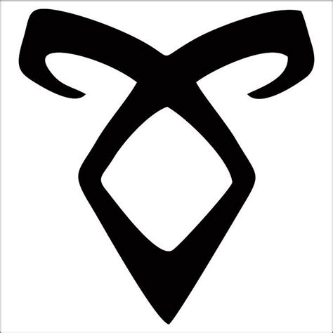 shadowhunters angelic power rune decal sticker choose color amp size ebay