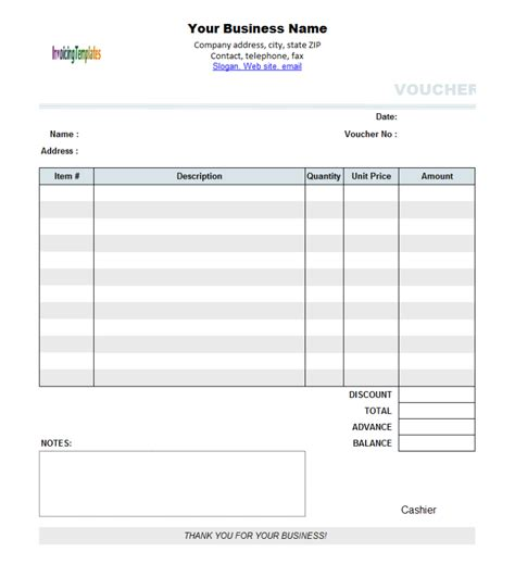 business voucher template company invoice 7 results found invoice