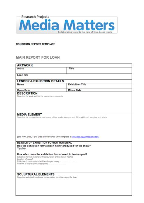 Electronic Arts Intermix Loan Report Template