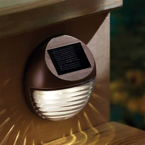 Solar Powered Deck Lights Outdoor Solar Powered Deck Lights Outdoor Home Design Ideas