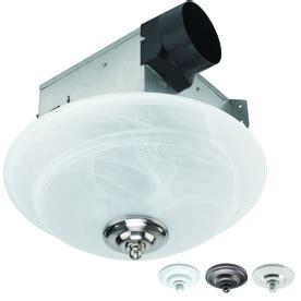 Bathroom Fan Replacement Parts Shop Utilitech 2 Sone 70 Cfm White Bathroom Fan With Light