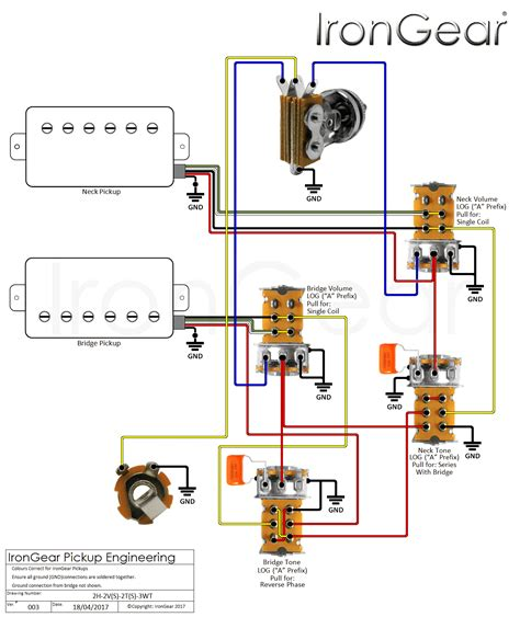 humbucker wiring 2 tone 1 volume wiring diagram with