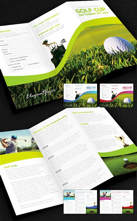 golf brochure template 15 free brochure templates for designers to naldz