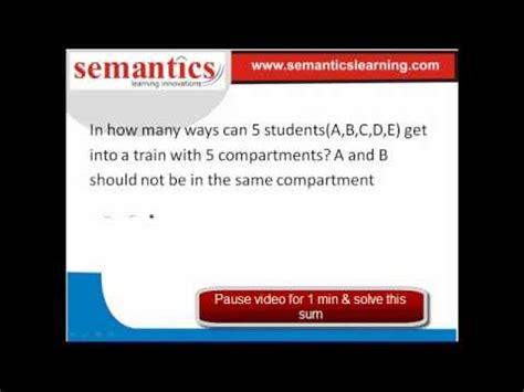 semantic web tutorial youtube permutation combination basics tutorial gmat superia video