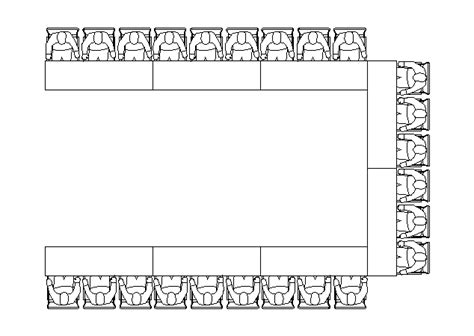 Choosing The Best Seating Style For Your Audience Horseshoe Seating Chart Template