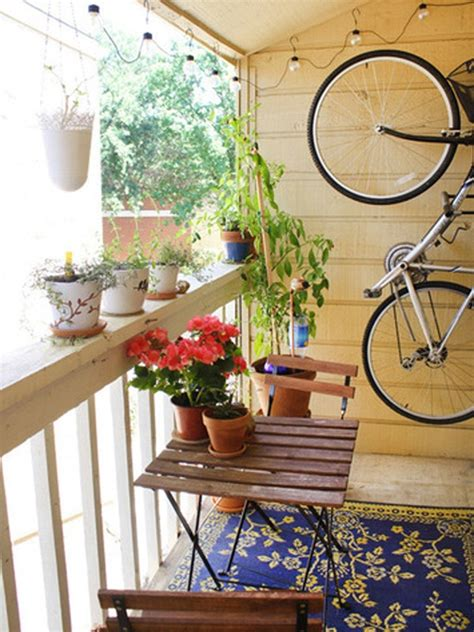 Small Decorations by Small Balcony Decorating Design