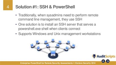 enterprise powershell  remote security assessments