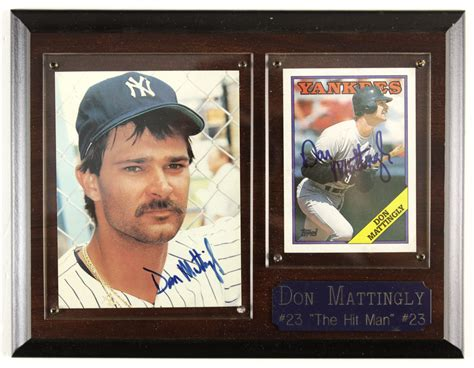 Don Mattingly Restaurant by Lot Detail 1980s 90s Don Mattingly New York Yankees