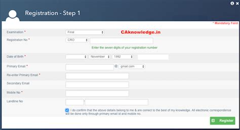 Verification Letter To Icai Icai Registration Letter 54 Images Articleship Completion Form 108 Penay Check Icai