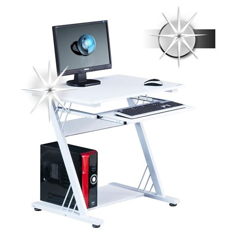 High Gloss Computer Desk by Sixbros Computer Desk Workstation High Gloss White Ct 3312m 1842 Ebay