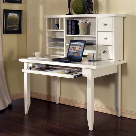 Best Tribeca Loft White Writing Computer Desk With Hutch White Computer Desk With Hutch