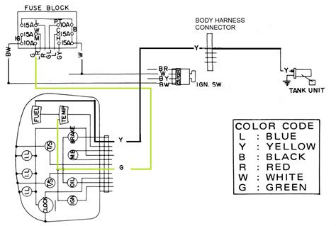 nissan 1400 wiring diagram wiring diagram and