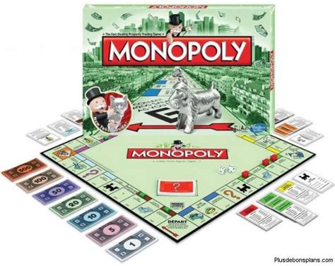 Promo Monopoly Monopoli The Original carrefour le jeu de soci 233 t 233 monopoly classique 224 12 42