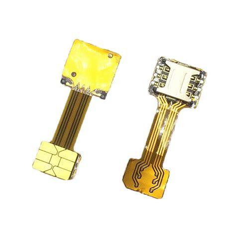 converter hybrid aliexpress com buy hybrid double dual 2 sim card adapter