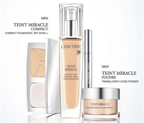 The New Of Lancome 3 by Introducing New Additions To Lanc 244 Me Teint Miracle Range