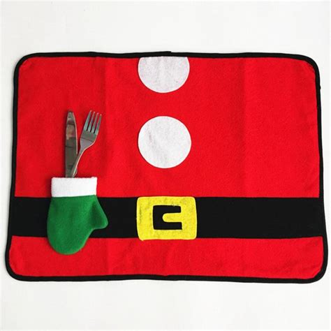 square placemats for table 10 pcs lot xmas square placemats table mats for dining