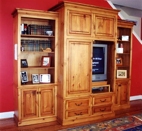 pine tv stands and cabinets custom built in tv cabinets entertainment centers