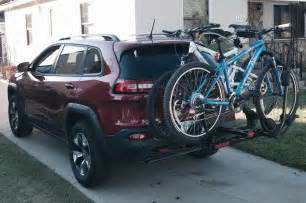 2014 Jeep Grand Bike Rack 2014 jeep trailhawk bike rack photo 2