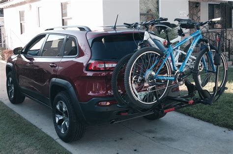 Dirt Bike Rack For Jeep by 2014 Jeep Trailhawk Term Update 3 Motor Trend