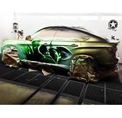 BMW X6 Paintjob Reveals Inner Hulk When You Pour Hot Water