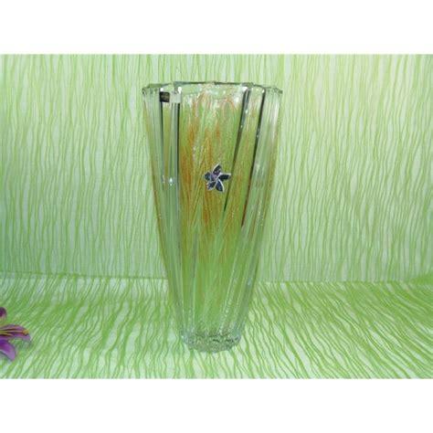 floreros de cristal de bohemia florero de cristal de bohemia modelo scallope