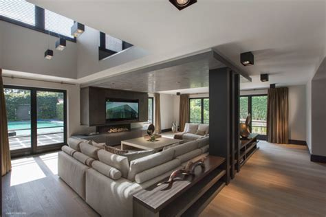 complete home interiors ultramodern sleek house with sharp lines