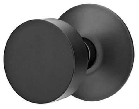 Matte Black Door Knobs by Solid Brass Door Knob Set With Modern Rosette Matte