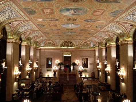 palmer house chicago a peek inside chicago s palmer house hilton hotel