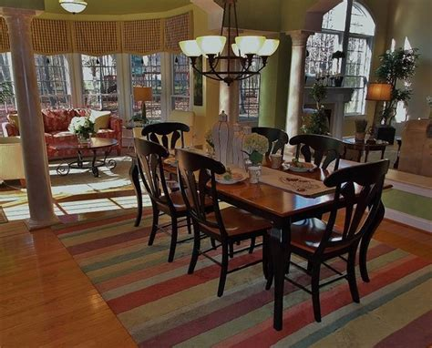 Kid Friendly Dining Room by Kid Friendly Yet Transitional Dining Room Dc