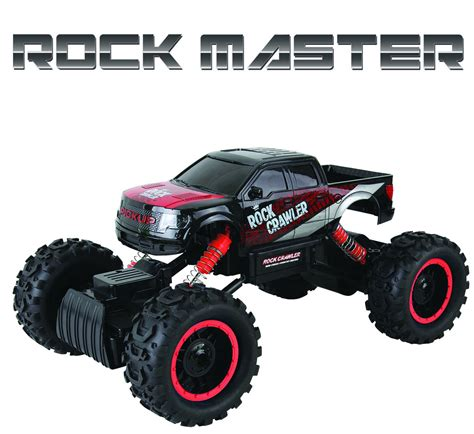 Rock Master 1 rock master rock crawler 4x4 rc car 1 14 scale with 2 4 ghz remote controller