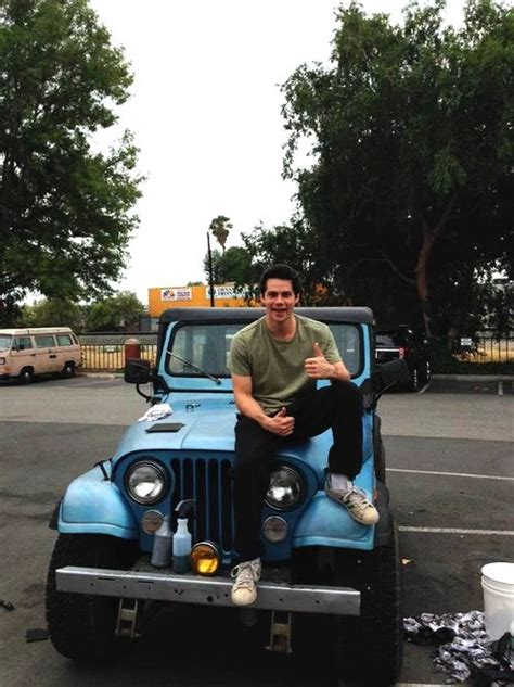 light blue jeep stiles stilinski stiles and his jeep image 3058493 by patrisha on favim com