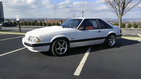 1990 mustang fastback 1990 ford mustang lx 5 0 foxbody 5spd for sale photos