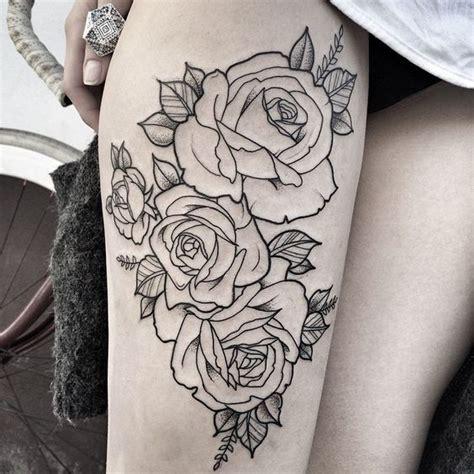 rose tattoo thigh pinterest pinterest girl almighty tatuagens pinterest girls