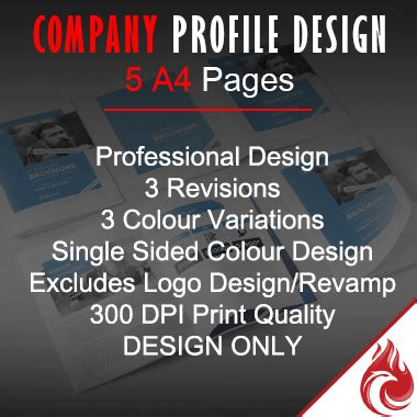 graphic design company profile sle company profile design graphic design