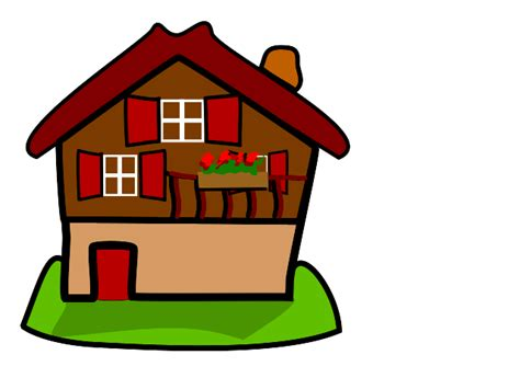 house animated cartoon images of houses clipart best