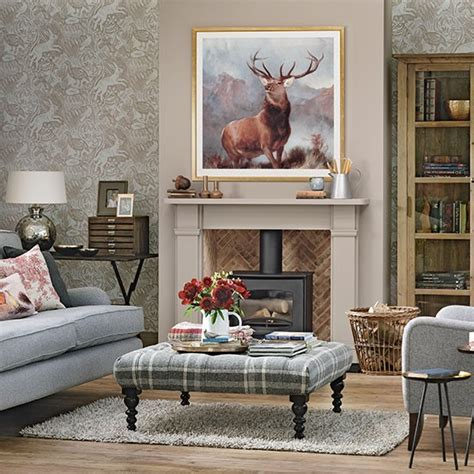 country themed living rooms woodland theme country living room living room decorating housetohome co uk