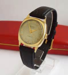 antiques atlas a gents 9 carat gold rotary wrist 1955