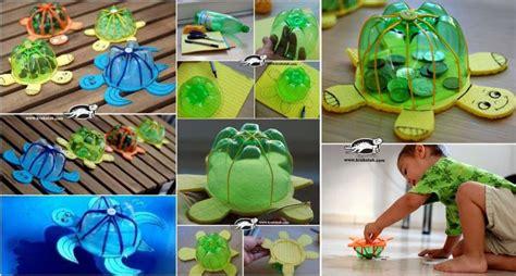 Mainan Kura Kura 23 mainan dari botol bekas yang mudah dibuat beserta gambarnya