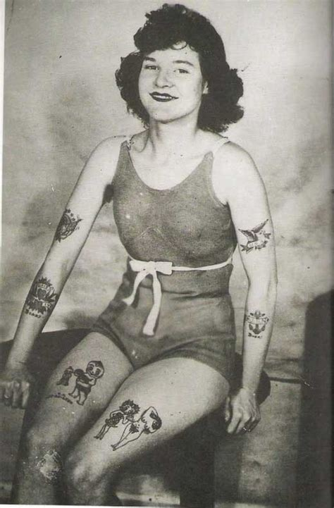 vintage tattoos amusing planet