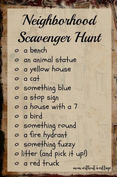 scavenger hunts photo scavenger hunt scavenger hunt