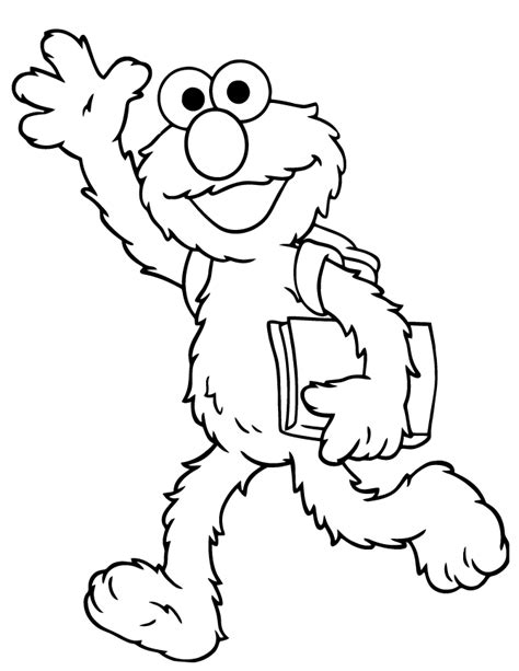 coloring pages elmo sesame street elmo coloring pages coloring home