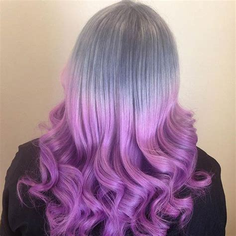 21 ombre hair colors you ll want immediately 21 looks that will make you crazy for purple hair page 2