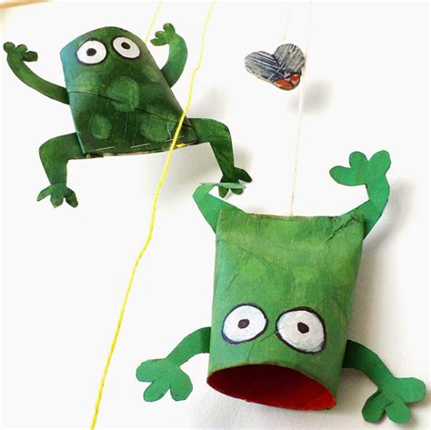 frog crafts for oneperfectday grrribbit