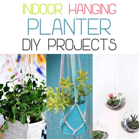 indoor hanging planter diy projects the cottage market