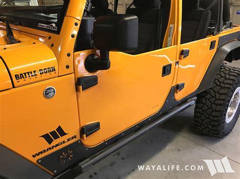 rugged ridge jeep jk wrangler half doors installation