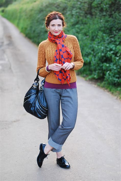 40 year female style how to wear colour in abundance over 40