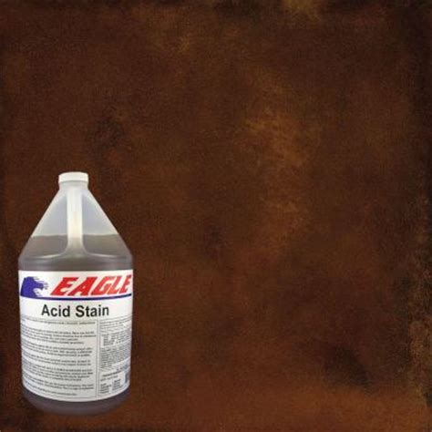 eagle 1 gal rustic concrete acid stain edadr the home depot