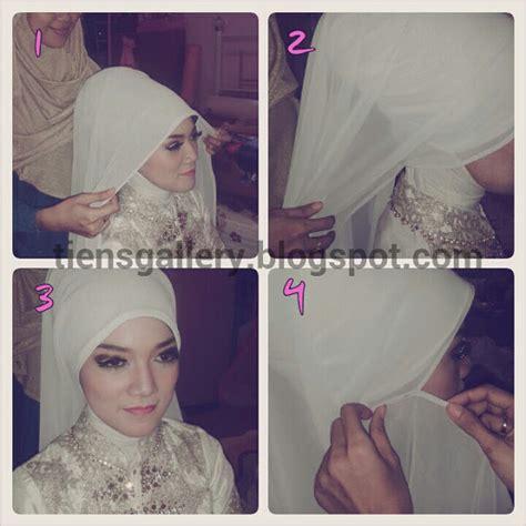 tutorial hijab untuk acara pengantin tutorial memakai jilbab pengantin 10 ide jilbab