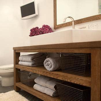 rustic modern bathroom vanity open bathroom vanity contemporary bathroom paola salinas