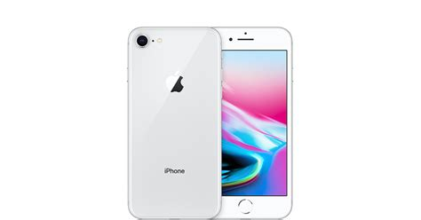 t iphone 8 iphone 8 256gb silver gsm at t apple